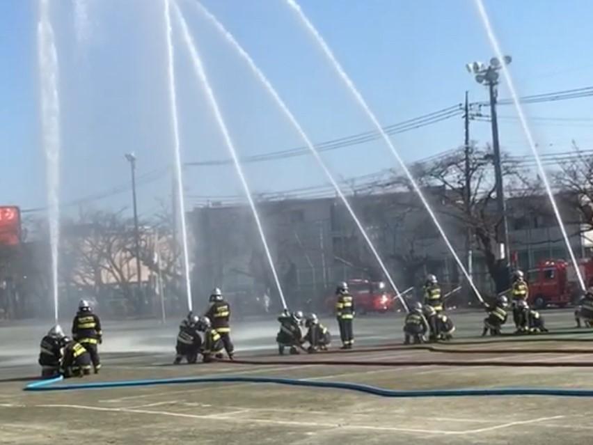 国分寺市消防団の出初式が1/7(火)一中で開催されます
