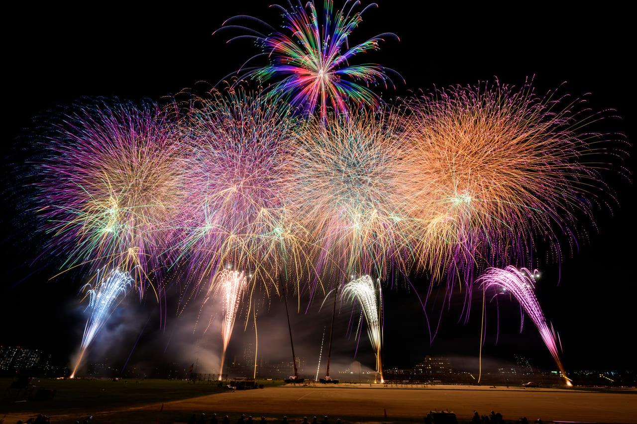 日本の花火「エール」プロジェクト、8月22日(土)全国28都県66カ所で一斉に花火が打ちあがります!