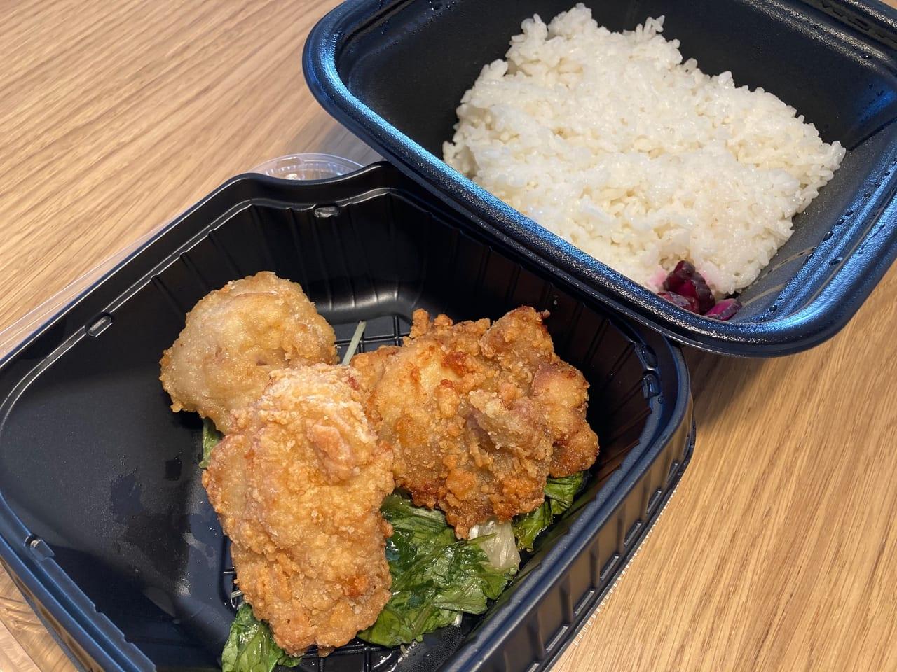 国分寺駅南口に『とりいちず食堂』が9月28日開店!オープン初日に並んで❝でか唐揚げ弁当❞を買ってきました!