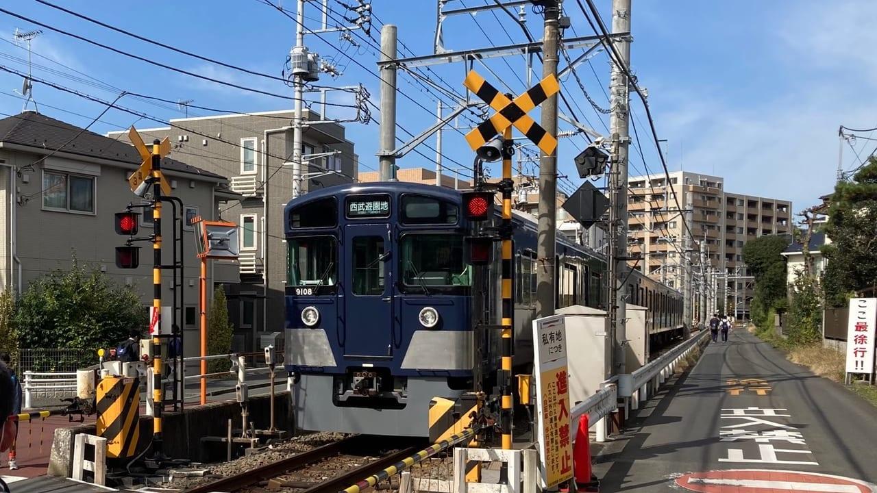 西武鉄道多摩湖線で11月14日6時50分頃、人身事故発生しました。国分寺~荻山駅間の運転を見合わせています。