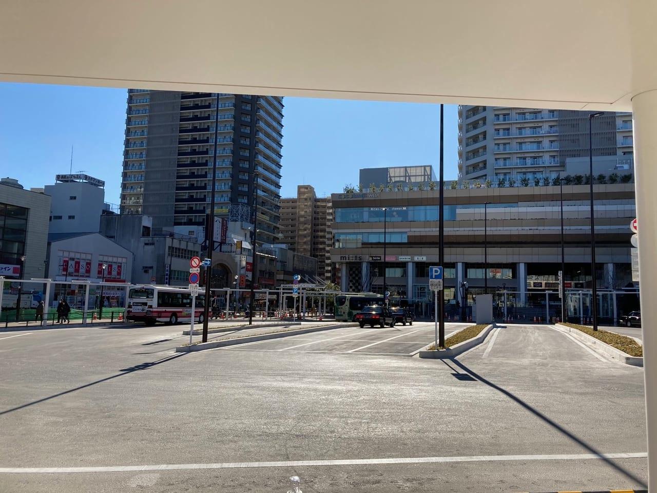 国分寺駅北口交通広場がほぼ完成・・・?!北口が生まれ変わりました!!